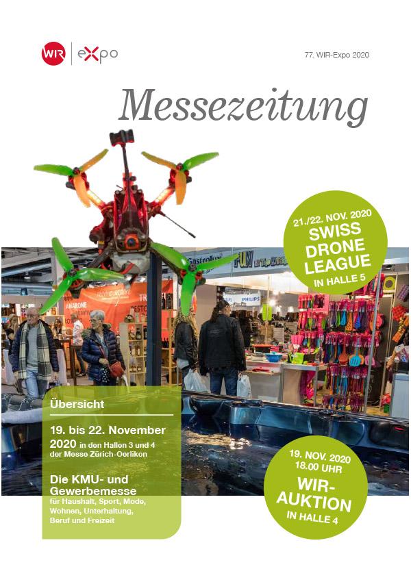 WIR-Expo Messezeitung Titelseite