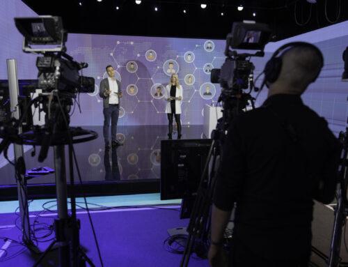 NEU: Live-Bühne mit Filmaufnahme an der WIR-Expo 2021